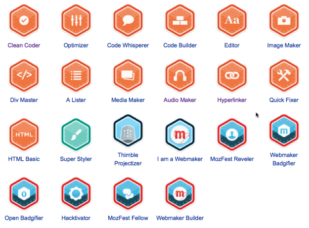 Webmaker-Badges